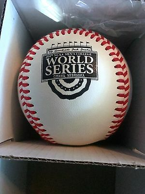 2017 Ncaa College World Series Baseball Limited Edition Rare Authentic Rawlings