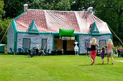 Inflatable Pub Hire 12m x 6m, Marquee Alternative.