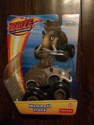 Blaze and the Monster Machines Die Cast Mammoth Truck