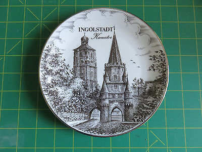 INGOLSTADT Royal KPM Porzellan Bavaria Germany Plate