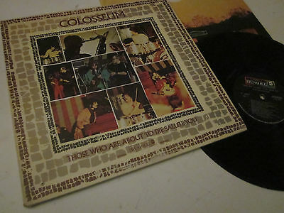 Colosseum - Those Who Are About To Die, Salute You - Stampa Usa - Lp Vinile