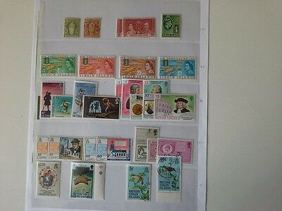 British Virgin Islands - Selection of Mainly Mint Stamps From 1899 Onwards