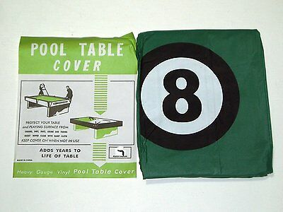 Pool Table Cover To Fit 7Ft Table With 8 Ball Design**
