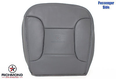 1994 1995 Ford Bronco Eddie Bauer -Passenger Side Bottom Leather Seat Cover GRAY