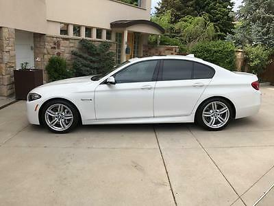 2016 BMW 5-Series  BMW 535d xdrive Leather Diesel Factory Warranty one owner heated seats steering