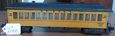 American Flyer S Scale, No. 20 F.Y. & P.R.R. Passenger Car