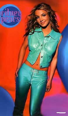 NOS Poster - YOUNG BRITNEY SPEARS - BLUE PANTS - #9042 -
