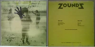 ZOUNDS - SINGLES COMPILATION - LP 1983 VERY RARE ITALY press ONLY on BASE REC.