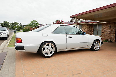 1990 Mercedes Benz 300CE 24 White Coupe