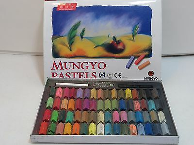 Mungyo Pastels 64 Colors Half Square Length Crayons