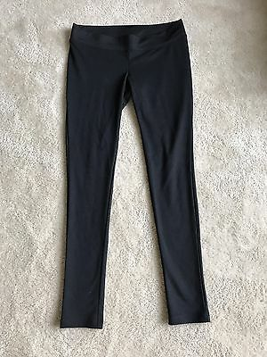 Liz Lange Maternity Under Belly Thick Black Leggings Size XS