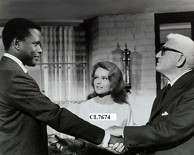 Sidney Poitier Katharine Houghton Spencer Tracy 'Guess Who's Coming to Dinner?'