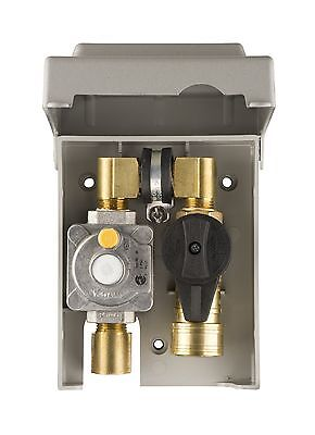Burnaby Manufacturing Ltd G0101-2#-5W-50 Gas Plug Gas Outlet Box with 1/2-Inc...