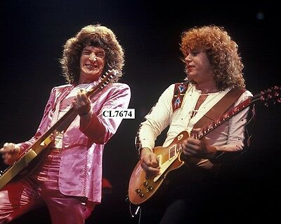 Kevin Cronin and Gary Richrath of REO Speedwagon Performing on Concert in Boston