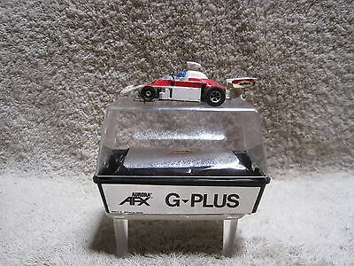 AFX G-Plus #11 McLaren Formula One red/white (#1733) in cube/box & racing guide
