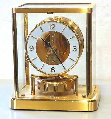 FULL SERVICED GORGEOUS 1980's JAEGER LECOULTRE 540 ATMOS CLOCK S-600,000 WORKING