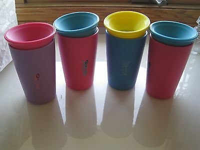 LOT 4 WOW Sippy Cups Great condition