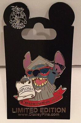 Disney Pin Graduation 2017 New Stitch Pin With Diploma Rare Lilo And Stitch New
