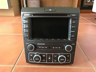 Holden VE Calais Series 1 Blaupunkt Headunit Stereo Radio Dual Zone Heater