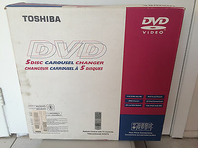 Toshiba 5 Disc DVD CD Player Changer - Brand NEW in Box