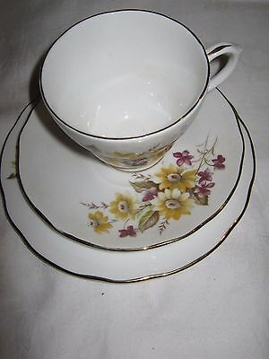 Vintage Duchess Cup/Saucer/Plate Trio Bone China England No 406- Susie