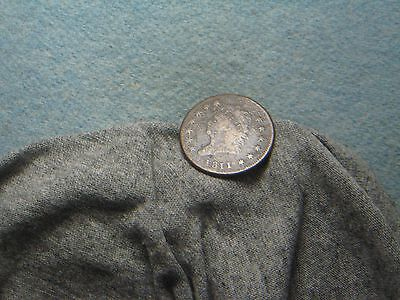 1811/0 Large Cent!! Tough Date! (157)