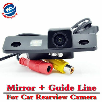 Car Rear View Camera For VW Skoda Octavia Night Version CCD Car Camera