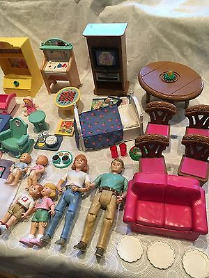 Fisher Price Loving Family Dolls, Furniture, Accessories, Dollhouse Furniture