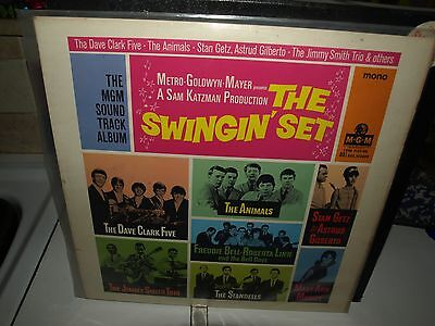 THE SWINGIN' SET vinyl rock/pop film soundtrack album