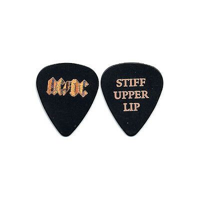 AC/DC real 2000 Stiff Upper Lip tour promo LP release collectible Guitar Pick