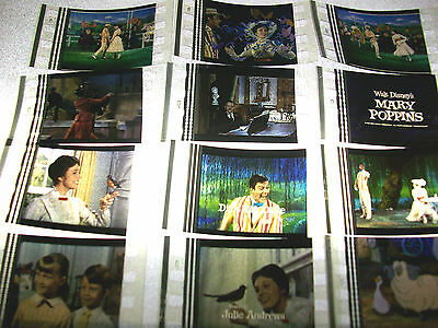 MARY POPPINS Film Cell Lot of 12 - animation collectible compliments dvd poster