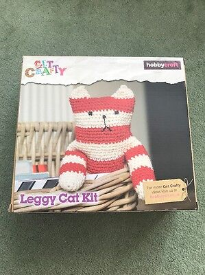 Leggy Cat Crochet Kit - Hobbycraft