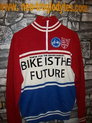 Vintage Cycling jersey shirt '70s wool   maglia bici ciclismo