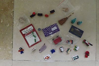 Selection Of 21 Dolls House Items