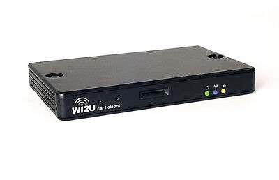 Lesswire Wi2U 3G In Car Wifi Router (Wifi for your passengers)