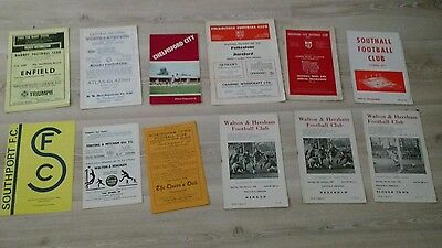 Bundle of non league programmes from 1960's and 1970's