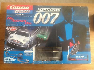 Carrera (Scalextric Type Racing) 007 Die Another Day Set With Cars And Track