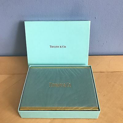 Vintage Tiffany & Co. Playing Cards - New Sealed In Box - Raspberry & Periwinkle