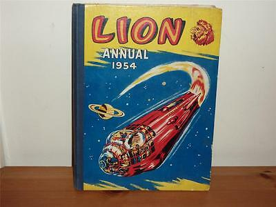 Lion Annual - 1954 - 1st Lion Annual - Not Price Clipped