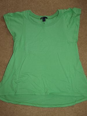 Lovely Gap Girls Top T-shirt Age 13 Years Green