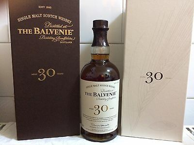 Sammlung Auflösung Balvenie 30 Year Old Single Malt Whisky 700ml