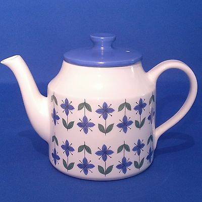 Vintage & Rare 1970s Retro MIDWINTER ROSELLE - TEA POT (1¼ Pint) Good Condition