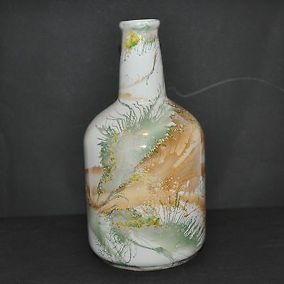 Vintage Japanese Ceramic Sake Bottle Vase