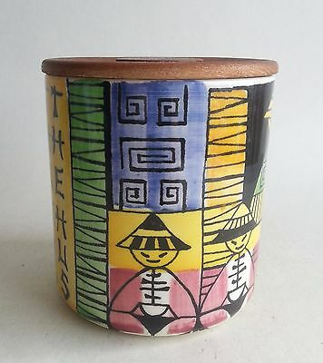 Anita Nylund Jie Gantofta Sweden Pottery Jar Caddy canister THEO THUNGS THEHUS