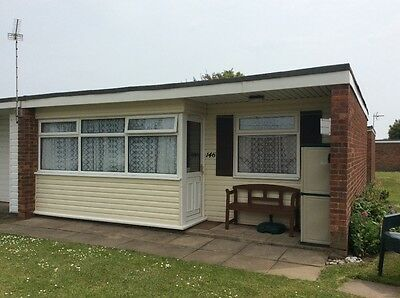 Holiday Chalet Hemsby Great Yarmouth, Norfolk 1st - 8th July 2017