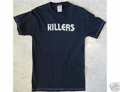 THE KILLERS Size Small Black T-Shirt