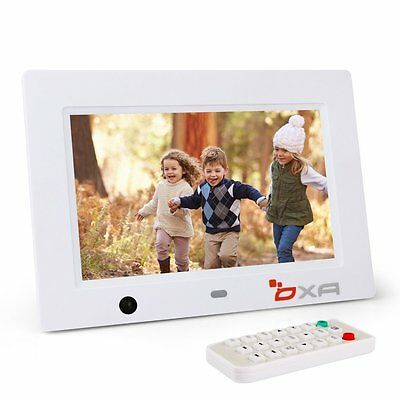 OXA 8-Inch 16G HD Digital Photo Frame with Built-in Storage Motion Sensor MP3 Pl