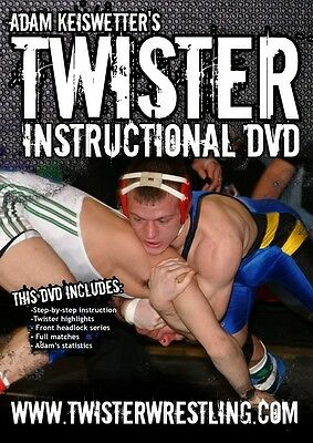 Twister Wrestling DVD Coaching Technique Video MMA BJJ grappling youth wrestle
