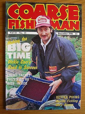 Coarse Fisherman magazine - December 1986 (Barrie Rickards, Dickie Carr, Pike)