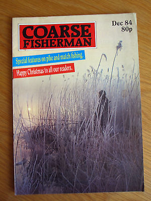 Coarse Fisherman magazine - December 1984 (John Bailey, Mark Downes John Bailey)